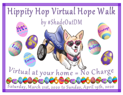 Hippity Hop Virtual Hope Walk by #ShadeOutDM