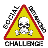 SOCIAL DISTANCING VIRTUAL RUN RUCK CHALLENGE Logo