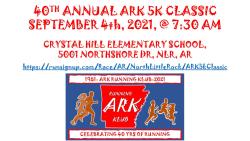 40th ANNUAL ARK 5K CLASSIC