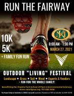 """Run the Kingsmill Resort Fairway Series 10k & 5k + Outdoor """"Living"""" Festival"""