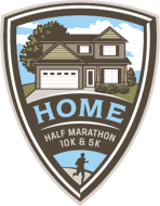 Virtual Stay Home Half Marathon, 10K & 5K Charity Bib