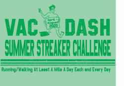 Vac & Dash 2020 Summer Streaker Challenge