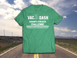 Vac & Dash 2021 Summer Streaker Challenge