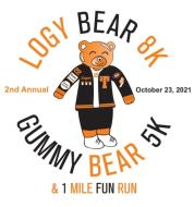 The Logy Bear 8K, Gummy Bear 5K, and 1 Mile Fun Run