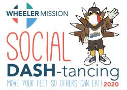 Social DASH-tancing Virtual Run/Walk for Wheeler Mission!