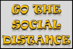 Go the Social Distance 5K                  (3.1 miles)