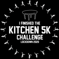 Kitchen 5K Challenge (Run a 5K in your kitchen!)