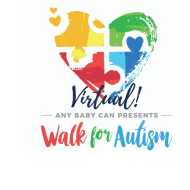 Any Baby Can's Virtual Walk for Autism - April 18
