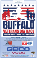 Veterans Race - Buffalo, NY   Sponsored by Geico.