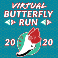 Butterfly  Labor Day Virtual Run