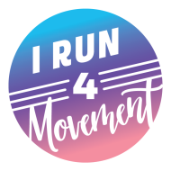 I Run 4 Movement Virtual Runs Logo