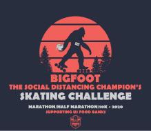 Bigfoot...The Social Distancing Champion's Skating Challenge