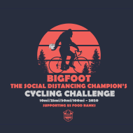 Bigfoot...The Social Distancing Champion's Cycling Challenge