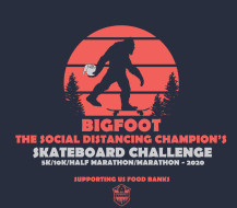 Bigfoot...The Social Distancing Champion's Skateboard Challenge