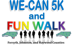 WECAN Johnston Virtual 5K or 1 mile