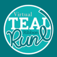 2020 Virtual Teal Ribbon 10K, 5K Run, 3K Family or Pet Walk- By Hope for Heather