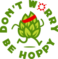 Don't Worry.  Be HOPPY. Virtual Race Series