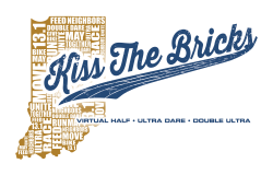 Kiss the Bricks Virtual Half Marathon & Ultra Dares