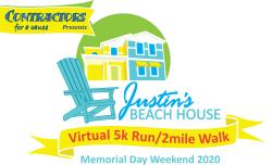 Virtual Justin's Beach House 5k & 2 Mile Run/Walk