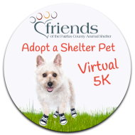 Friends of the Fairfax County Animal Shelter Adopt a Shelter Pet Virtual 5K