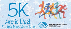 Boys & Girls Clubs of Greater Northwest Indiana 5K Arctic Dash