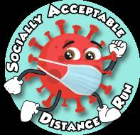 Socially Acceptable Distance Run