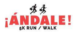 Third Annual ¡Andale! 5K Run/Walk
