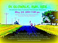 5k GloWalk, Run, Ride