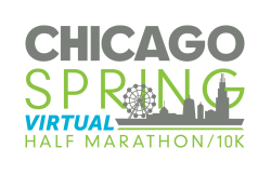 Chicago Spring Half Marathon & 10K Virtual Logo