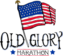 Old Glory Marathon Logo
