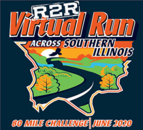 R2R Virtual Run Across Southern Illinois