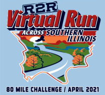 R2R Virtual Run Across Southern Illinois (and back!)