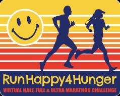 RunHappy4Hunger Virtual Half/Full/Ultra Marathon Challenge