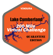 Lake Cumberland 200 Mile Virtual Challenge