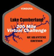 Lake Cumberland 200 Mile Virtual Challenge Logo