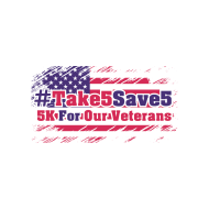 #Take5Save5 - Virtual 5K Run for Veterans