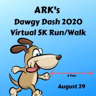ARK's Dawgy Dash 2020, Virtual 5K