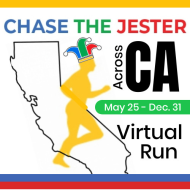 Chase the Jester Across California Virtual Runs