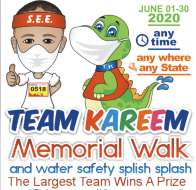 Walk with Team Kareem to Prevent Drowning