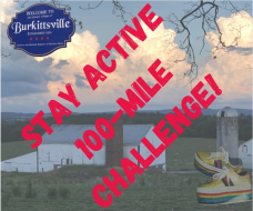 Stay Active Burkittsville 100-Mile Challenge