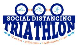 Social Distancing Triathlon
