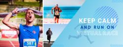 Keep Calm and Run On Virtual Race