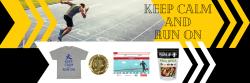 Keep Calm and Run On Virtual 10K