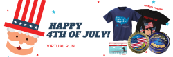 July 4th Run for Freedom Virtual Race