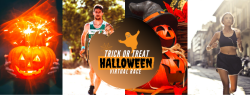 Trick or Treat Halloween Virtual Race