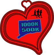Hearts Around Connecticut Virtual Challenge--Run the Border of CT!