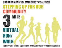 Stepping Up For Our Community 3 mile Virtual Run/Walk