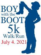 Boy with the Boot VIRTUAL Walk/Run