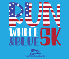 Run, White & Blue Virtual 5k