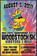 Woodstock 5K - RRCA Alabama State 5K Championship August 5, 2017
